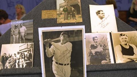 Antiques Roadshow -- S21 Ep23: Appraisal: Babe Ruth-signed Photographs