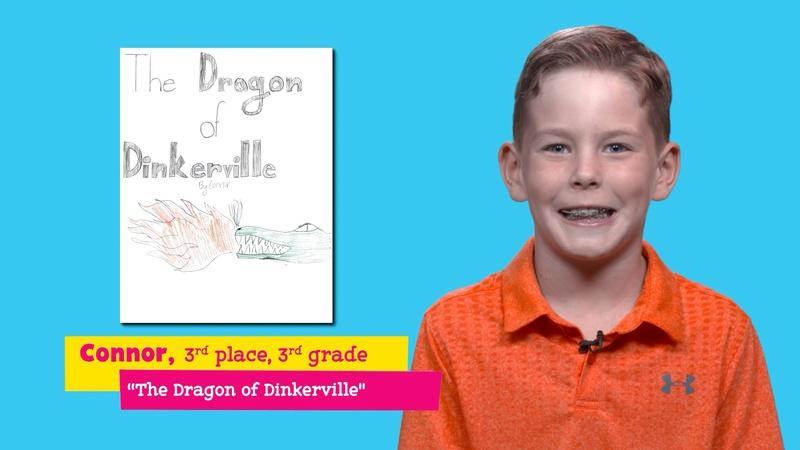 """Featuring """"The Dragon of Dinkerville"""" by Connor"""