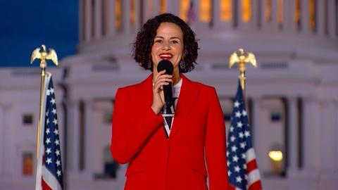A Capitol Fourth -- Behind the Scenes Interview with Mandy Gonzalez