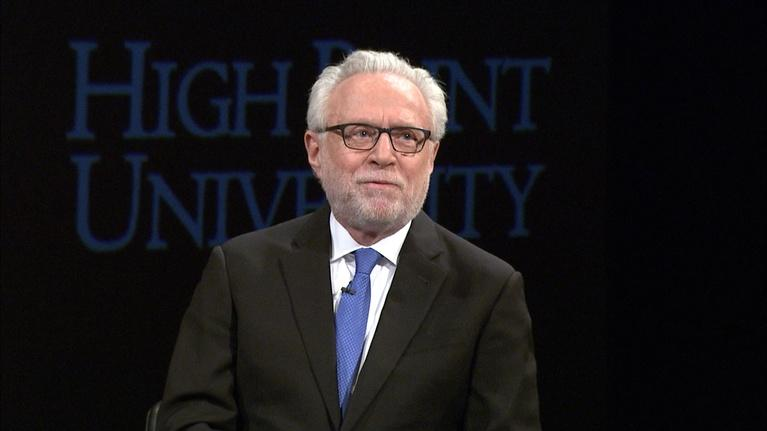 High Point University Presents: High Point University Presents: Wolf Blitzer