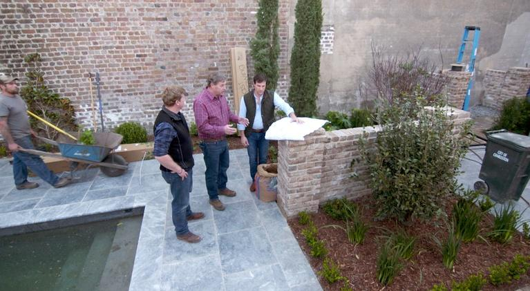 This Old House: Raise the Pergola | The Charleston Houses 2018