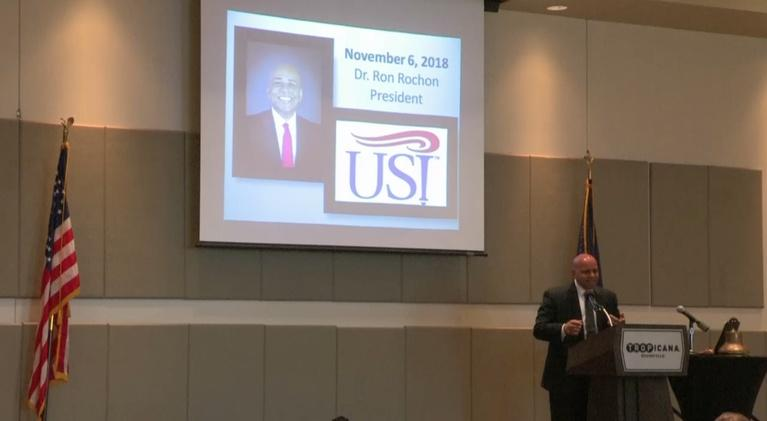 Evansville Rotary Club: Regional Voices: Dr. Ron Rochon, President USI