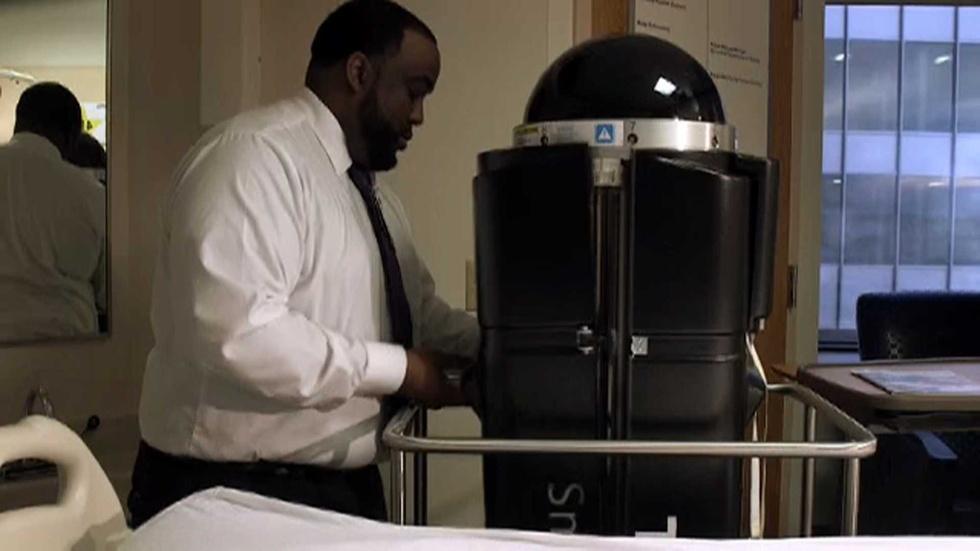 NC Science Now: Germ Killing Robots image