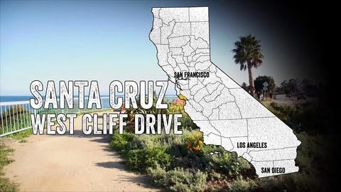 California Coastal Trail -- West Cliff Drive: The Heart of Santa Cruz