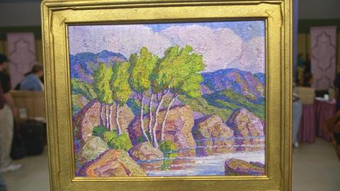 Antiques Roadshow -- S21 Ep23: Appraisal: 1937 Birgir Sandzén Landscape