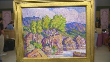 Appraisal: 1937 Birgir Sandzén Landscape