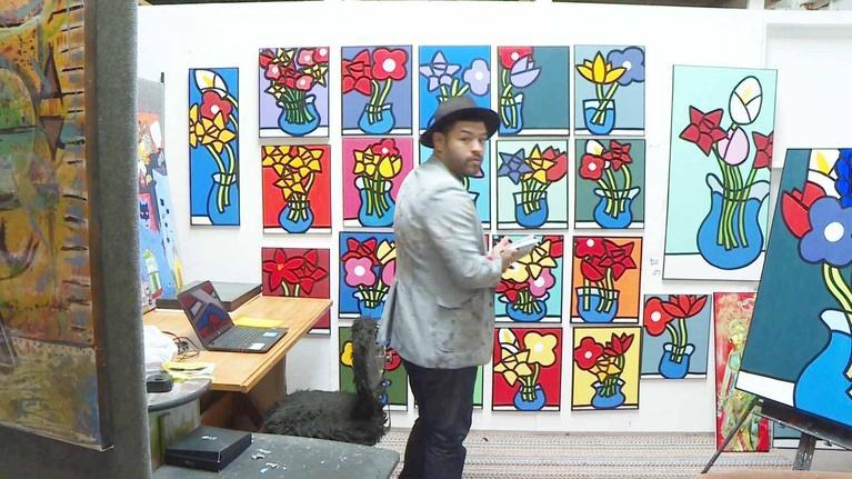 KLRN ARTS: April 19, 2018 | Homelessness to successful artist