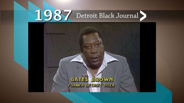 American Black Journal: 1987 Detroit Black Journal: Racism in Professional Sports