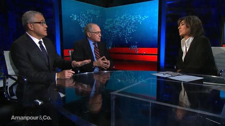 Amanpour and Company: Jeffrey Toobin & Alan Dershowitz