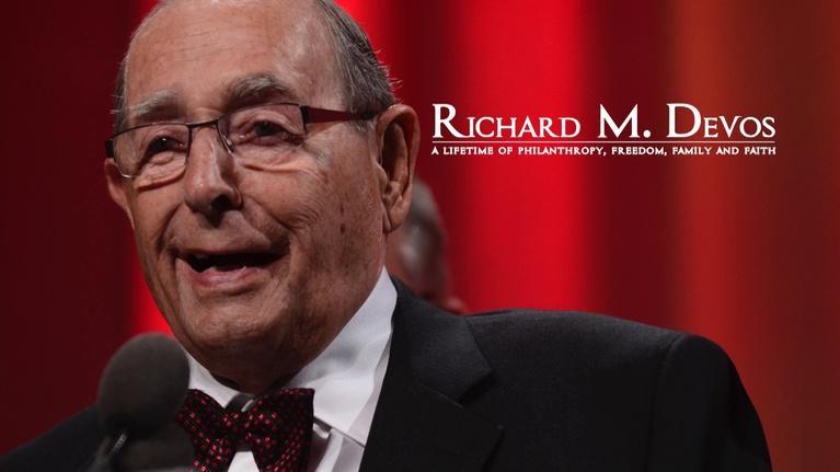 WGVU Presents: Richard M. DeVos: Philanthropy, Freedom, Family and Faith
