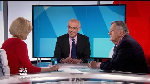 PBS NewsHour -- Shields and Brooks Trump's 100-day performance