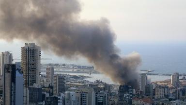 News Wrap: Fire erupts at Beirut port a month after blast