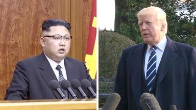 President Trump to meet with North Korea's Kim Jung Un