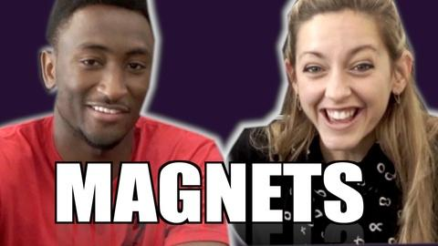 Physics Girl -- How Magnet Paper Works ft. MKBHD