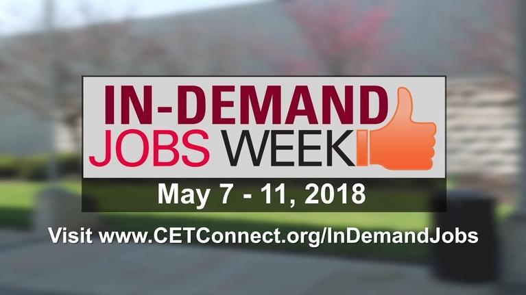 CET Education : In-Demand Jobs Week