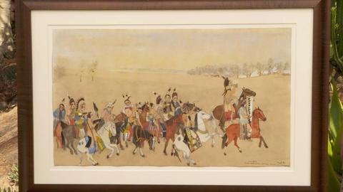 Antiques Roadshow -- Appraisal: Ernest Spybuck Painting