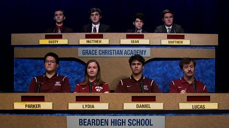 Scholars' Bowl: Bearden vs Grace Christian Academy