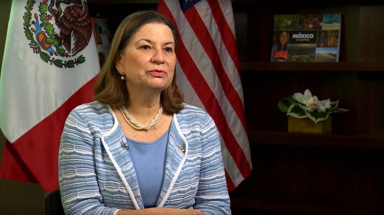 ¡Adelante!: Ambassador of Mexico Martha Bárcena Coqui