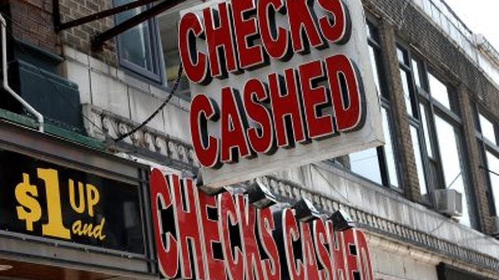 The surprising logic behind the use of check cashers image