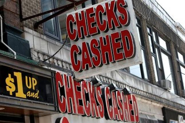 The surprising logic behind the use of check cashers