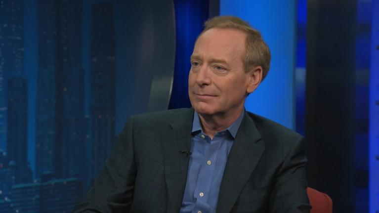 Amanpour and Company: Brad Smith Pulls Back the Curtain on Microsoft