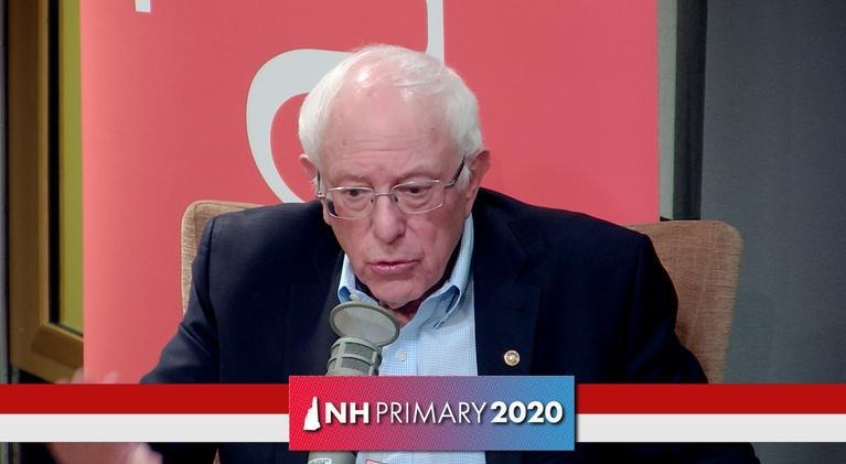 NH Votes: Bernie Sanders: Presidential Primary Candidate