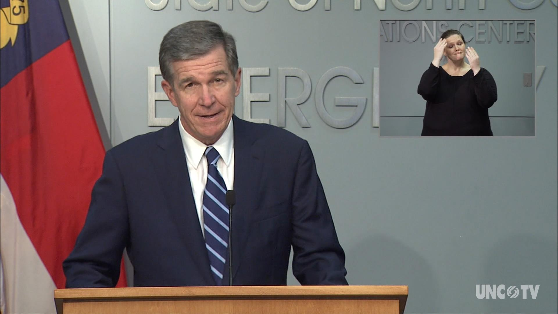 10/15/20 Governor Cooper Briefing (English)