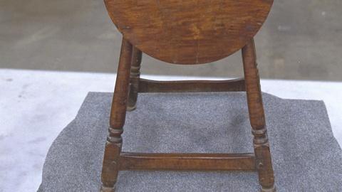 Antiques Roadshow -- S21 Ep22: Appraisal: Tilt-top Candlestand, ca. 1750