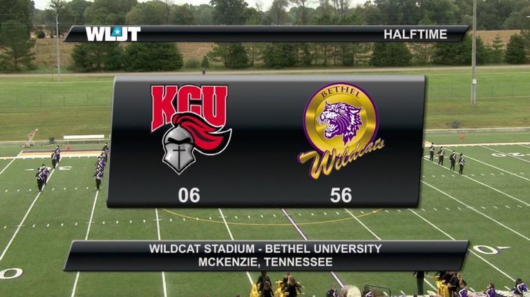 Game of the Week: Bethel University halftime performance - October 13, 2018