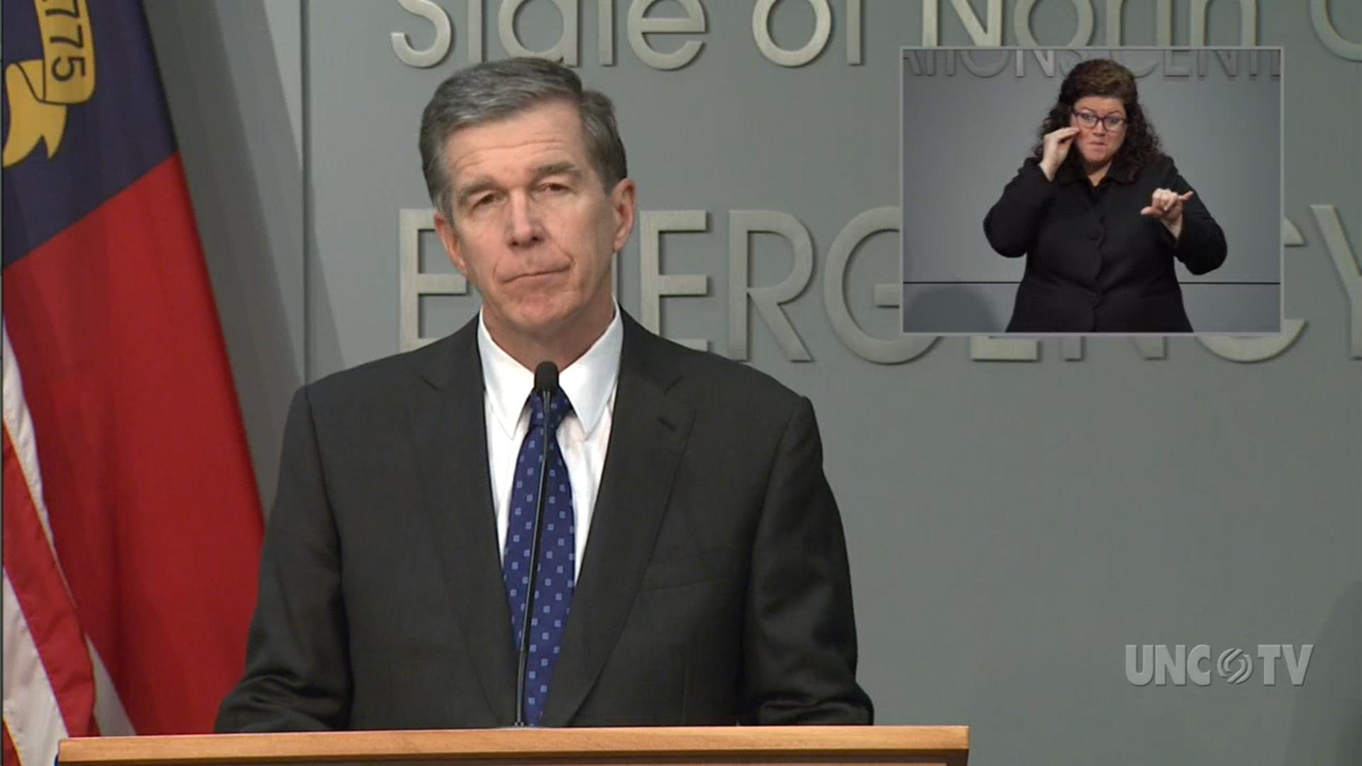 Coronavirus Briefing: NC Gov. Roy Cooper (03/25/20