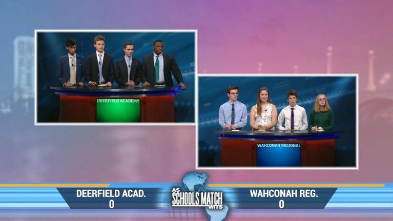 As Schools Match Wits: Deerfield Academy vs. Wahconah Regional (Jan. 4, 2020)