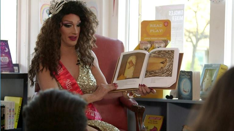Art Loft: Drag Story Time Series