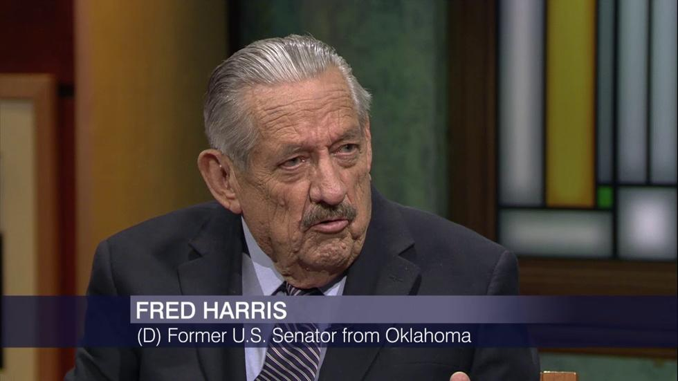 Sen. Fred Harris on Kerner Report, Progress Made and Lost image