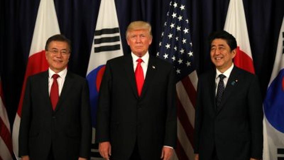News Wrap: U.S., Japan and South Korea unite on North Korea image