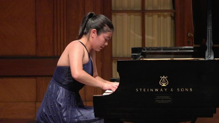 On Stage at Curtis: Art of the Piano