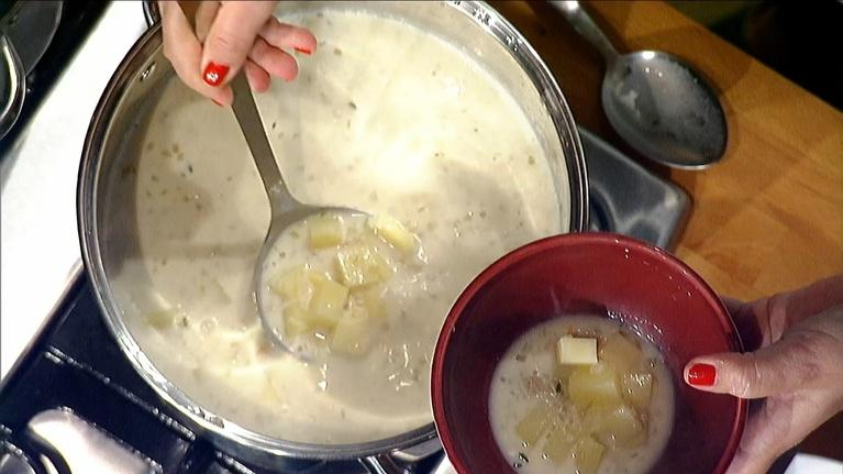 Check Please! South Florida: New England Clam Chowder Recipe | Michy's Munchies