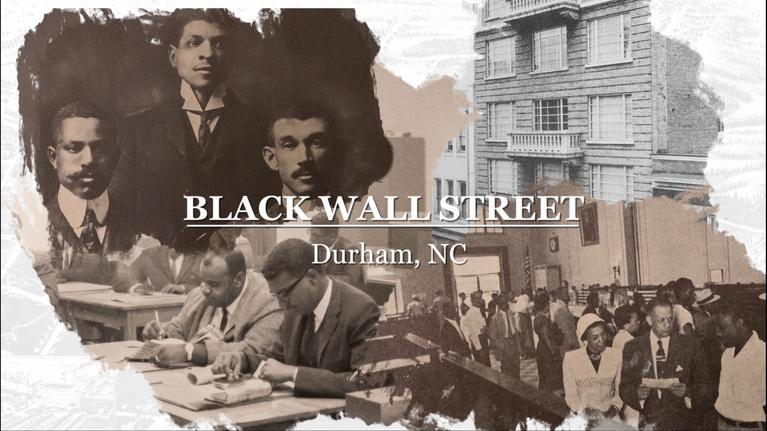 Black Issues Forum: Black Wall Street - Durham