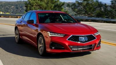 2021 Acura TLX & 2020 Chrysler Pacifica Hybrid