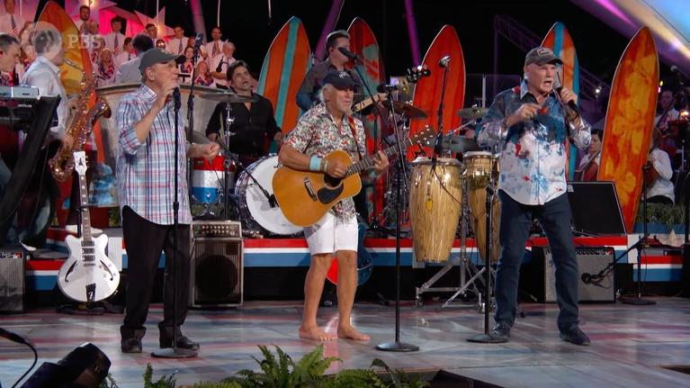 A Capitol Fourth: The Beach Boys Perform with John Stamos and Jimmy Buffett