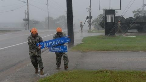 PBS NewsHour -- In Gulf Coast cities, officials warn of coming floods