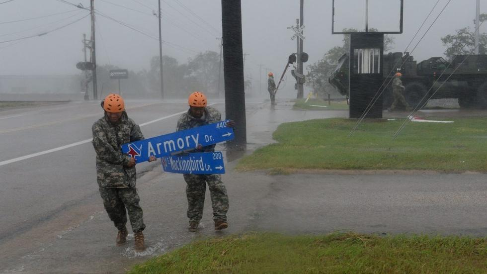 In Gulf Coast cities, officials warn of coming floods image