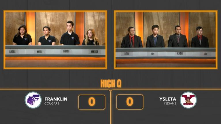 High Q: Franklin vs. Ysleta
