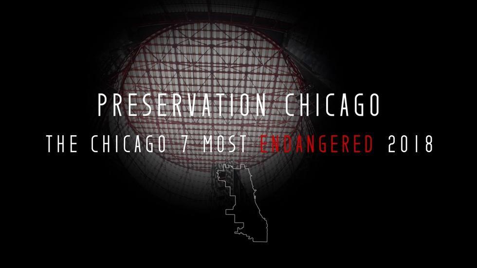 Preservation Chicago: The Chicago 7 Most Endangered 2018 image