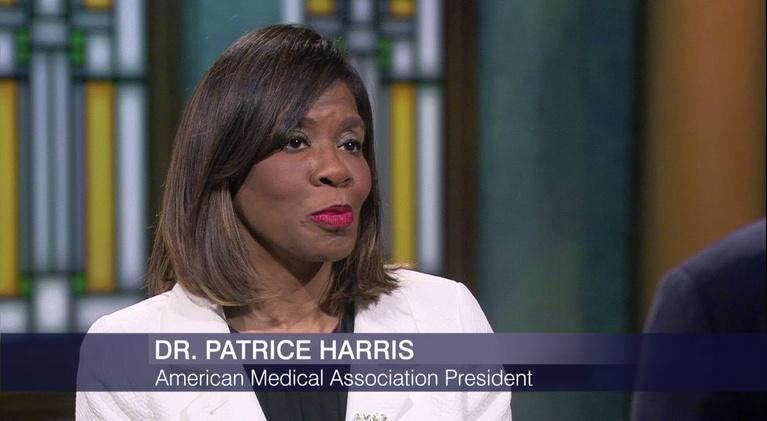 Chicago Tonight: First Black Female AMA President Talks Policy, Health Equity