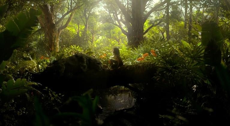 "Flicks: Christian Bale & Andy Serkis for ""Mowgli"""