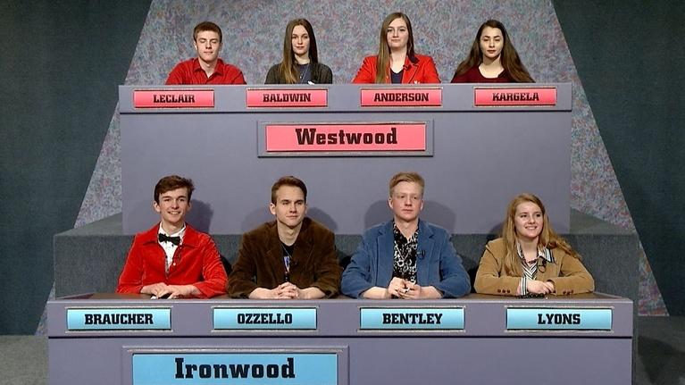 High School Bowl: 4038 2018 Semifinals: Westwood vs Ironwood