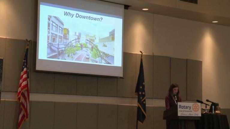 Evansville Rotary Club: Regional Voices: Candace Chapman, Downtown Evansville Dev