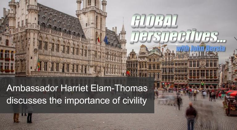 Global Perspectives: Ambassador Harriet Elam-Thomas