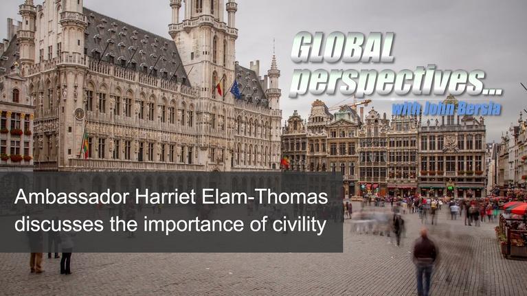 Global Perspectives: Ambassador Harriet Elam-Thomas