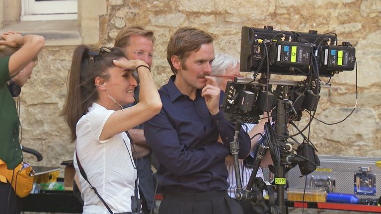 Endeavour: The Cast on Shaun Evans as Director